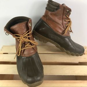 Sperry boys Avenue classic tan/brown duck boots